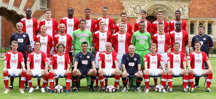 Crawley Town FC squad