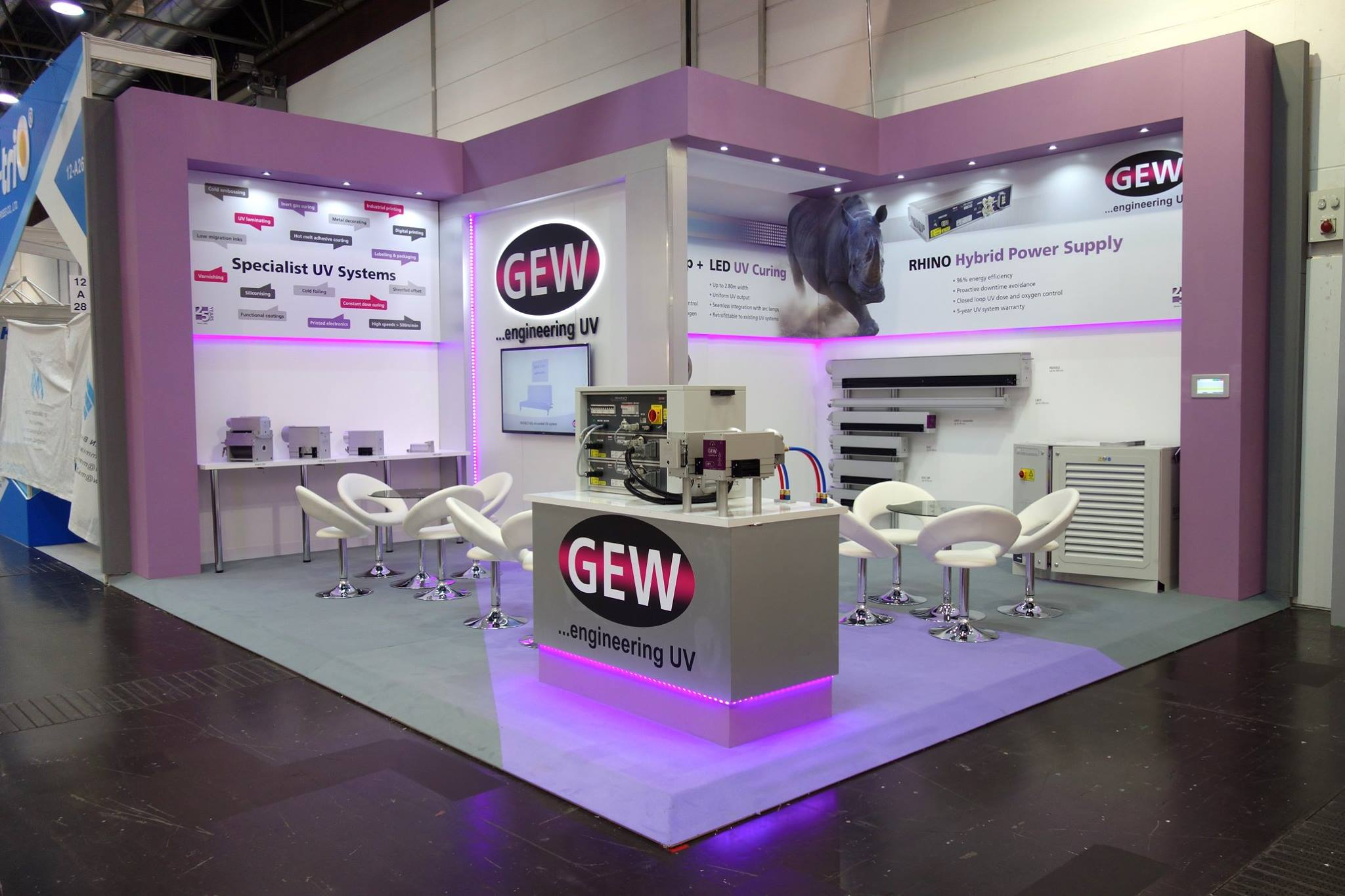 GEW exhibition stand