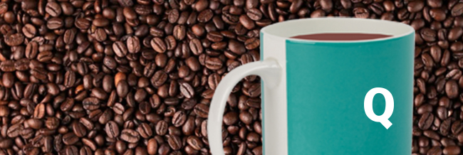 Brand Audit Guide with a cup of coffee